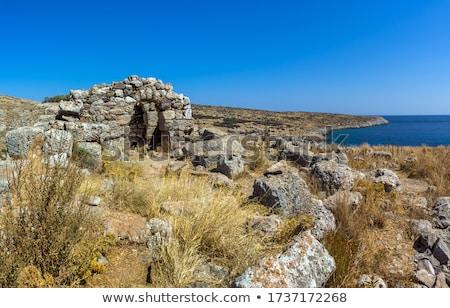 Sanctuary and Death Oracle of Poseidon Tainarios Stock photo © igabriela