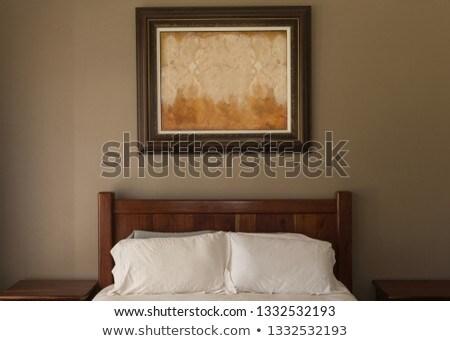 Moderne fotolijstje vast boven Stockfoto © wavebreak_media