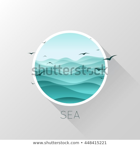 abstract deep icon Stock photo © pathakdesigner