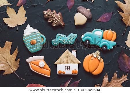 Cookies осень горизонтальный фото три Сток-фото © tab62