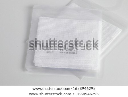 cotton pads for medical and dental use Stock photo © Klinker