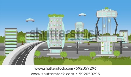 Planet Train Station Stock photo © hlehnerer