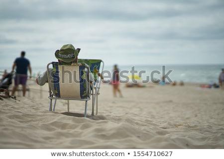 Restful man Stock photo © pressmaster