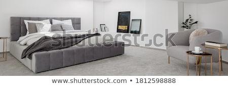 Moderne luxe slaapkamer twee licht Stockfoto © wavebreak_media