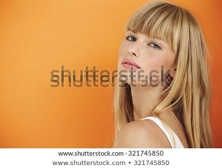 Beauty Shot Blond Stock photo © dnsphotography