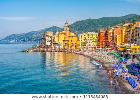 Италия · красивой · дома · пейзаж · морем · путешествия - Сток-фото © antonio-s