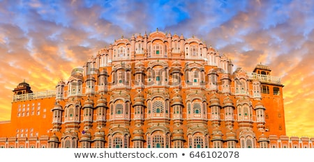 Palace of the Winds, Jaipur,  Stock photo © meinzahn