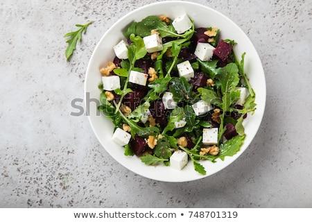 Betterave salade été fraîches herbe Photo stock © M-studio