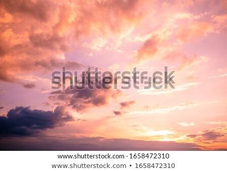 drámai · égbolt · nap · viharos · természet · tudomány - stock fotó © carloscastilla