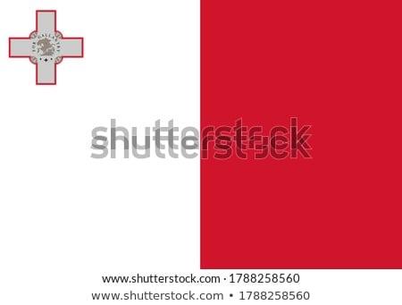 República Malta pequeño hombre 3d bandera Foto stock © Istanbul2009