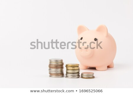 Coin on white background Stock photo © wavebreak_media
