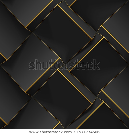 Creative seamless polygonal 3d pattern - repeatable geometric design. White and grey texture. Abstra Stock photo © ExpressVectors