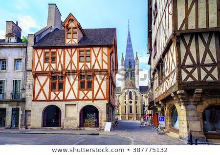 Street in Dijon, France Stock photo © borisb17