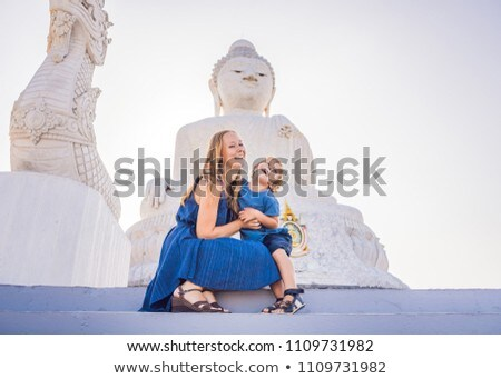 Grand buddha statue élevé phuket Thaïlande Photo stock © galitskaya