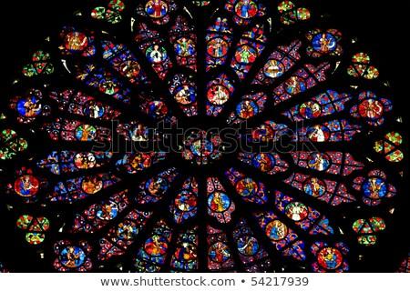 интерьер · Церкви · шампанского · Франция · здании · архитектура - Сток-фото © phbcz