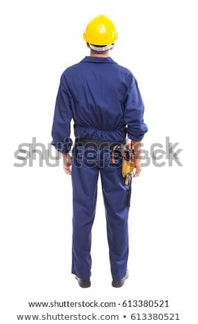 Tradesman standing back to back Stock photo © photography33
