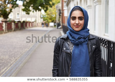 young woman in autumnal setting Stock photo © photography33