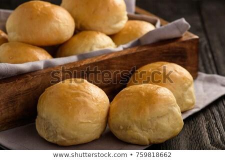パン · 孤立した · 白 · グループ · ディナー - ストックフォト © kitch