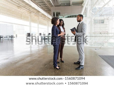 Businessmen in discussion Stock photo © photography33
