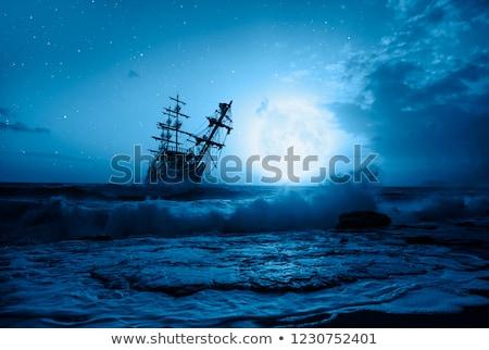 historic sailing boat stock photo © manfredxy