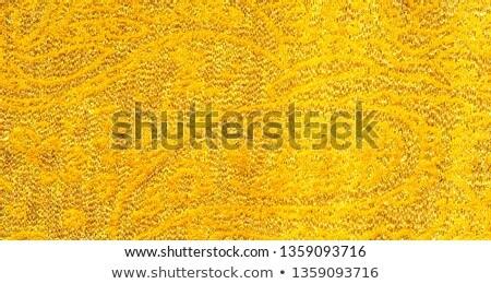 Aged golden brocade pattern Stock photo © Anterovium