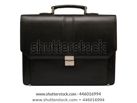 ビジネス · ブリーフケース · 孤立した · 白 · 黒 - ストックフォト © ozaiachin
