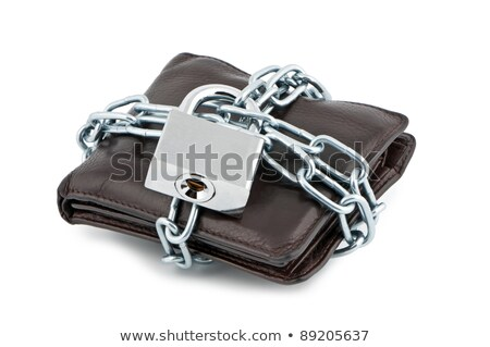 Wallet locked Stock photo © fuzzbones0
