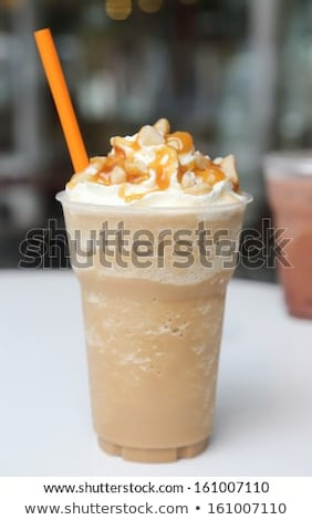 iced blended frappucino Stock photo © shutswis