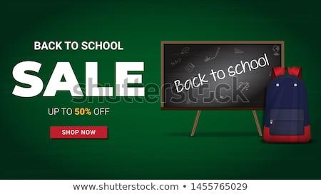 Estudiante ofrecer verde vector icono diseno Foto stock © rizwanali3d