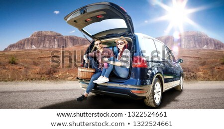 couple and big car stock photo © paha_l