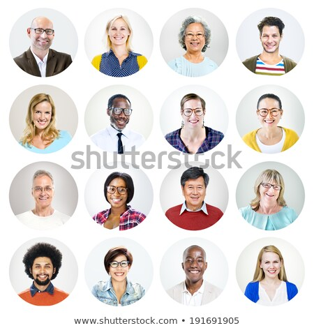 People's heads Stock photo © bluering