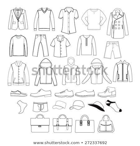 baseball jacket icon stock photo © angelp