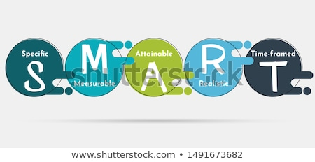 SMART Objectives concept vector illustration. Stock photo © RAStudio