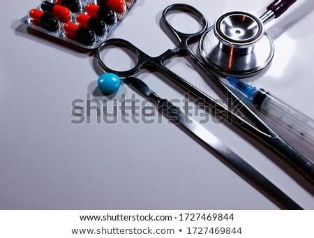 Nurse with Medical Hospital Product Stock photo © lovleah
