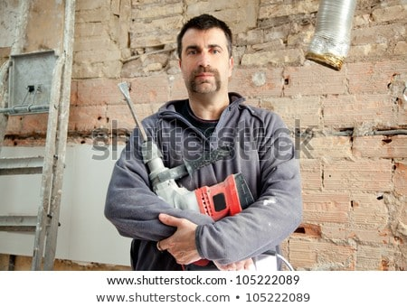 Portrait of a stonemason Stock photo © photography33