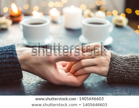 Romantic evening for the lovers Stock photo © konradbak