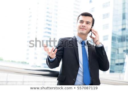 Retrato empresário negócio homem jovem Foto stock © imagedb