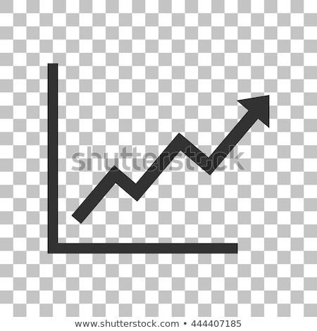 groeiend · percentage · pijl · geld · borden · procent - stockfoto © rastudio