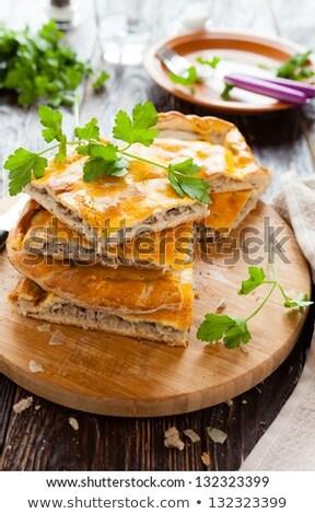 meat pie or tourte Stock photo © M-studio