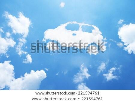 Car Shaped Cloud Stock photo © make