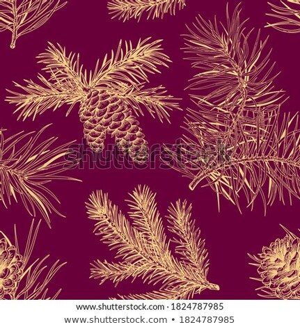 Christmas, New Years purple floral nature background, holiday ca Stock photo © Anneleven