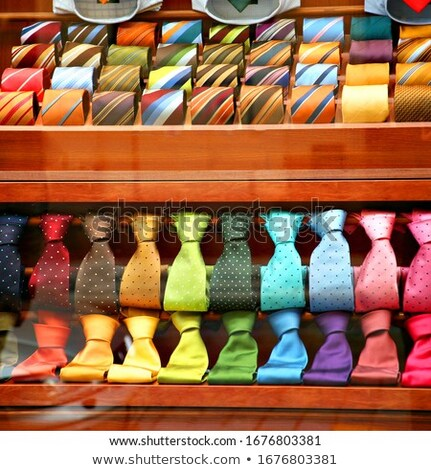 varicoloured male ties stock photo © ruslanomega
