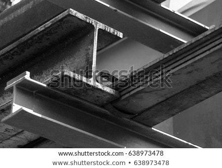 Acél nyaláb használt építkezés izolált fehér Stock fotó © claudiodivizia