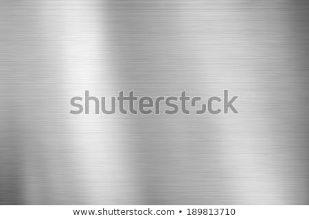 brushed metal plate texture Stock photo © experimental