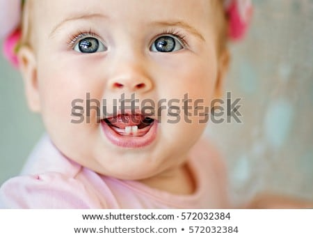 baby with two teeths Stock photo © Paha_L