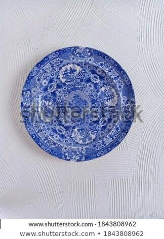 ancient plate isolated  Stock photo © OleksandrO