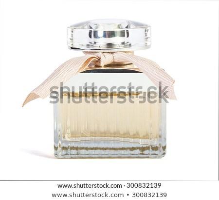 Blauw · parfum · fles · geïsoleerd · witte · lichaam - stockfoto © shutswis