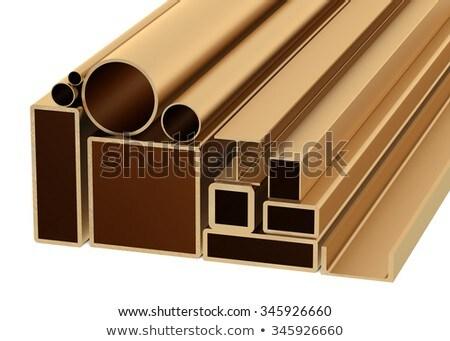 金属 · 製品 · 白 · 先頭 · 表示 · 3dのレンダリング - ストックフォト © tashatuvango