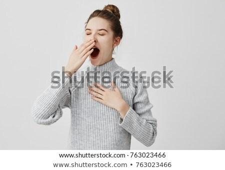 Yawn Stock photo © Novic