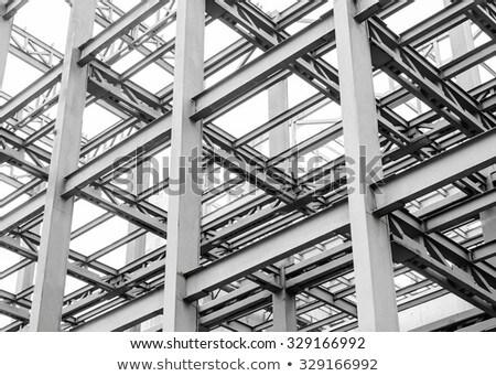 pormenor · estrutura · metal · industrial - foto stock © user_9323633